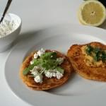 Zoete aardappelpannekoekjes van Eline en Joep